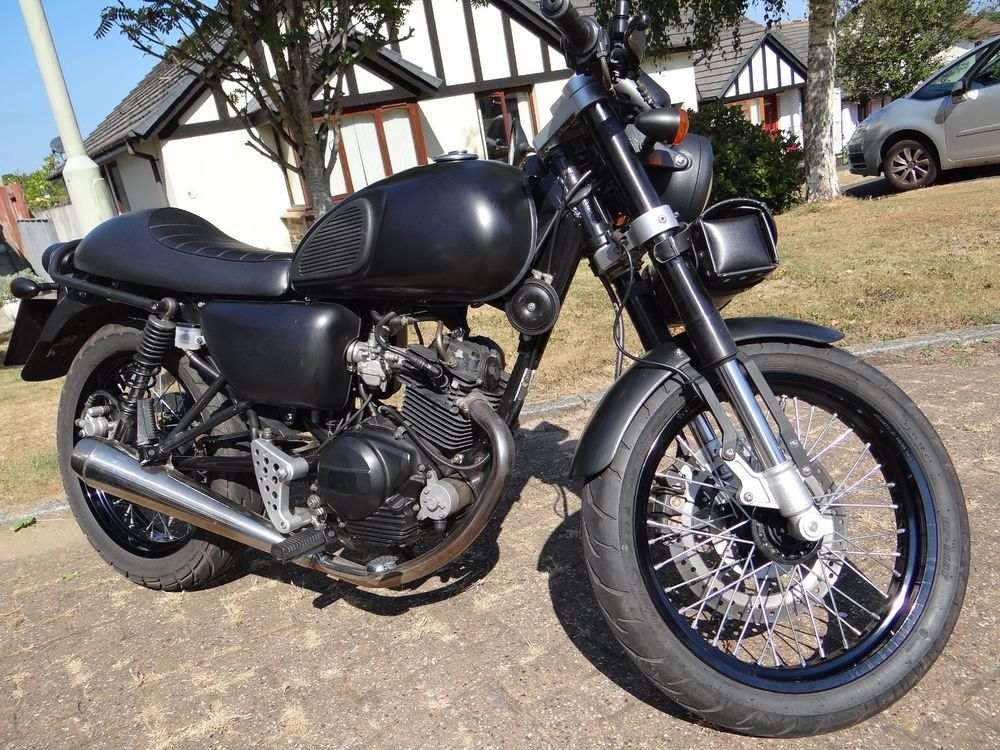 125cc Motorcycle Motor Bike Cafe Racer