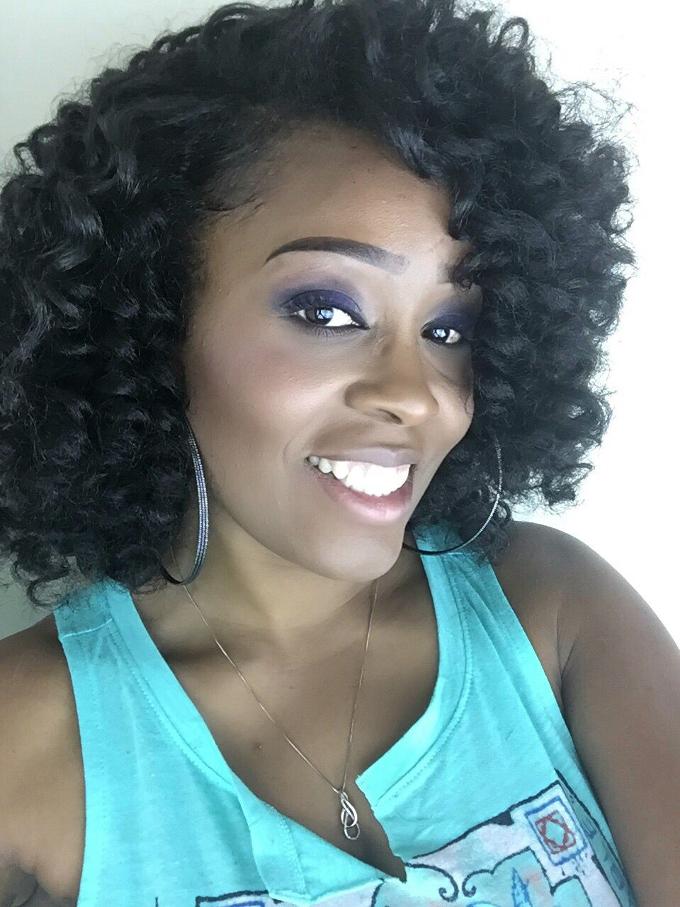 crochet braids with jamaican bounce hair | hair & makeup tips and