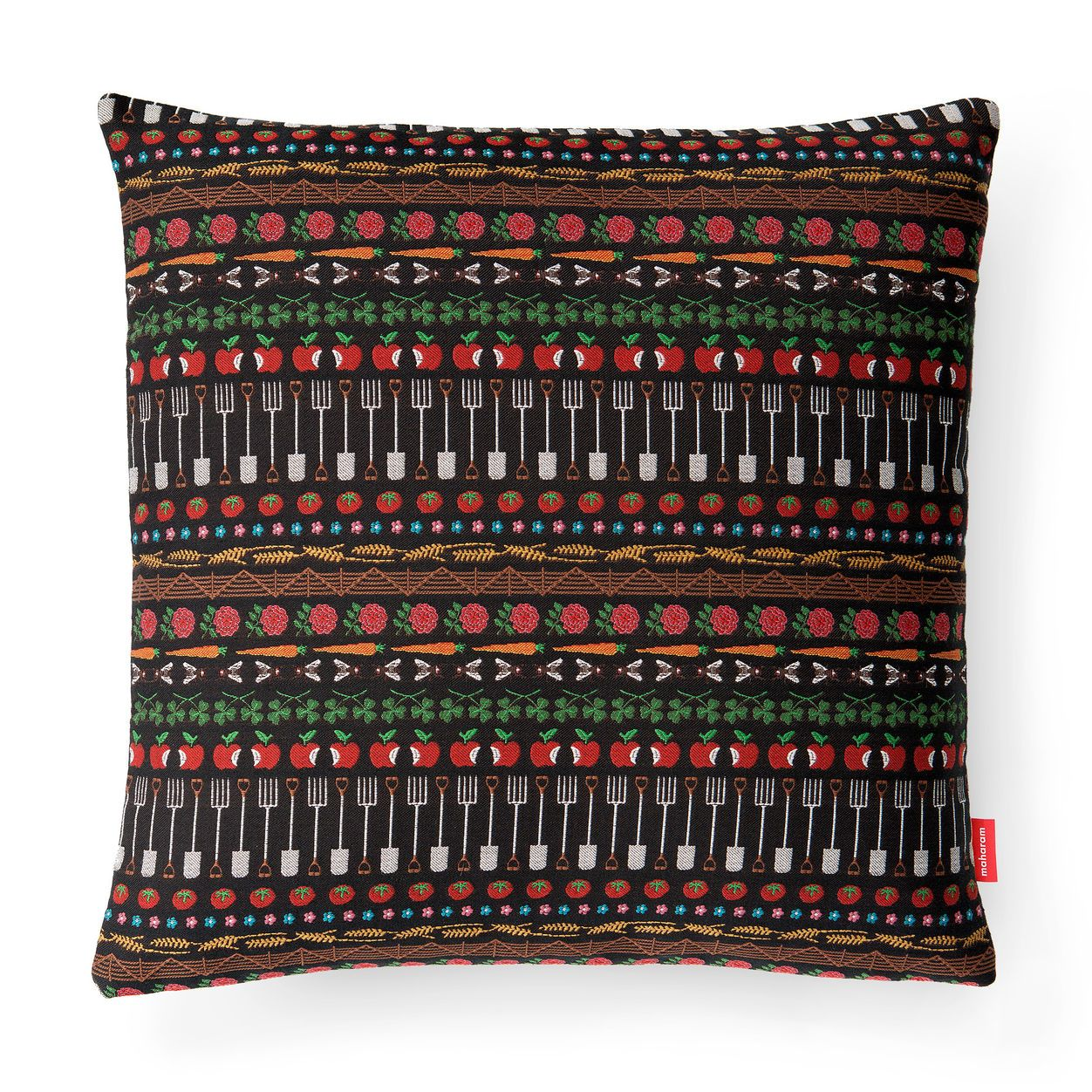 Bavaria stripe pillow in color accessories pillows and throws