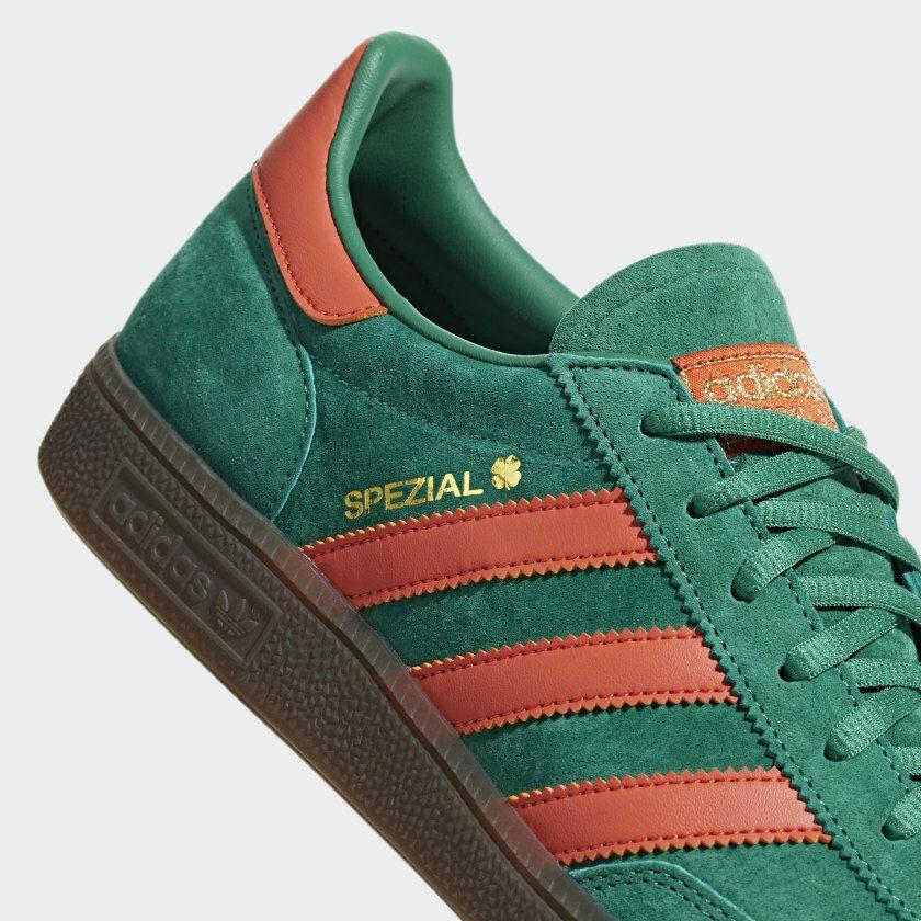 burbuja ángulo Patriótico  Handball Spezial Shoes Bold Green / Raw Amber / Gum BD7620 | Adidas, Adidas  spezial, Adidas online