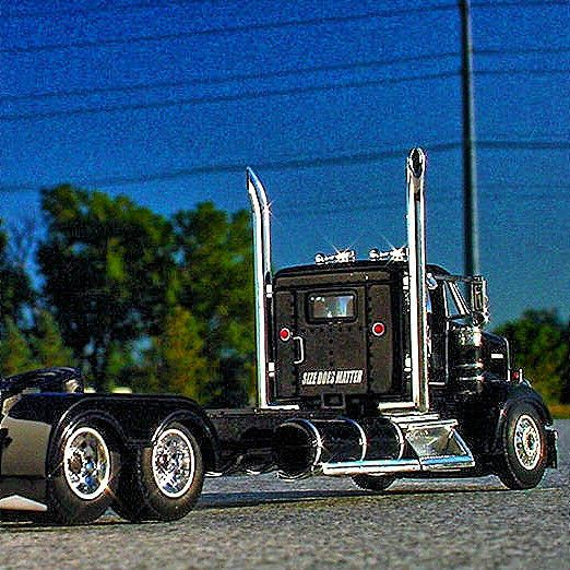 Rare Dcp East Coast Large Car Kenworth W900 Daycab W 53 Reefer 32334 Diecast Trucks Kenworth Large Cars