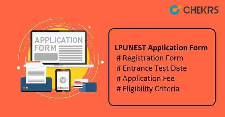 LPU NEST Application Form 2019 Apply Now