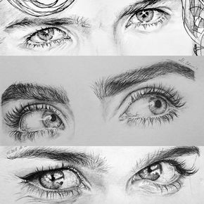 12.2 mil Me gusta, 216 comentarios - ✏DAILY DOSE OF SKETCHING (@sketch_dailydose) en Instagram: 1, 2 or 3? By @mal.zda . Follow @sketch_dailydose for more art! . Do you want immediately… #realisticeye