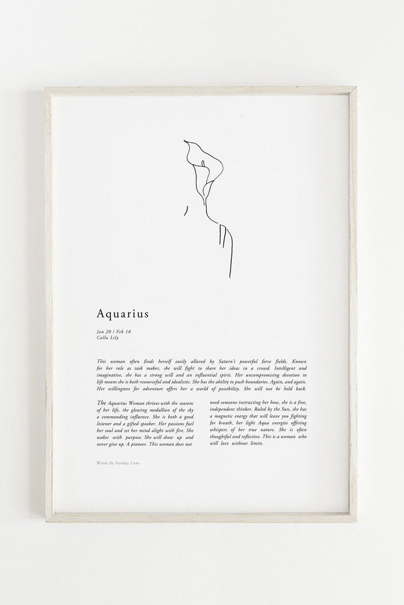 Aquarius Woman Ii Aquarius Woman Zodiac Art Aquarius Aesthetic