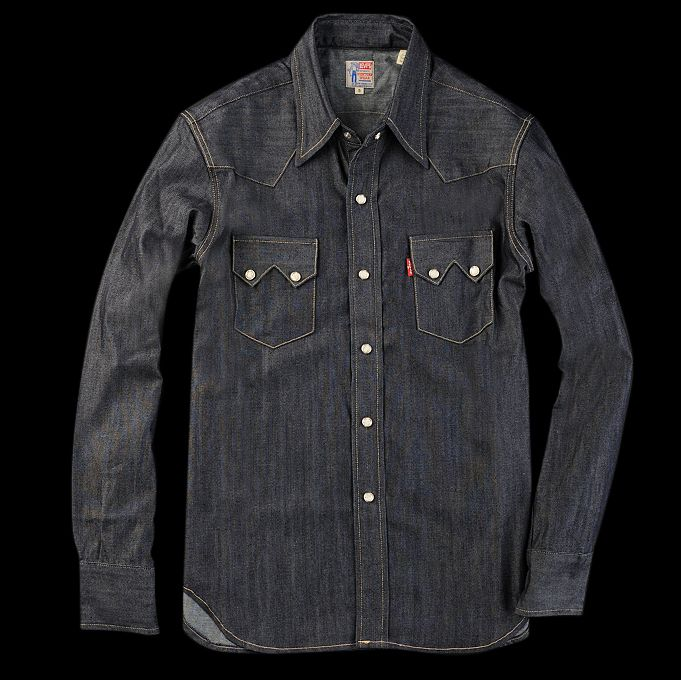 Unionmade Levis Vintage Clothing 1955 Sawtooth Denim