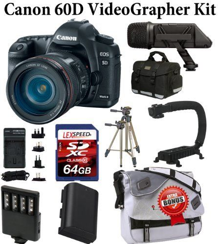 Canon EOS 60D Body W/ Canon EF-S 18-135mm f/3 5-5 6 IS