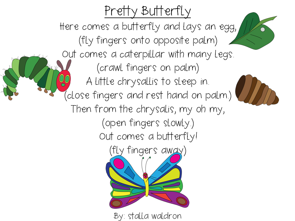 butterfly poems for kindergarten - Google Search ...