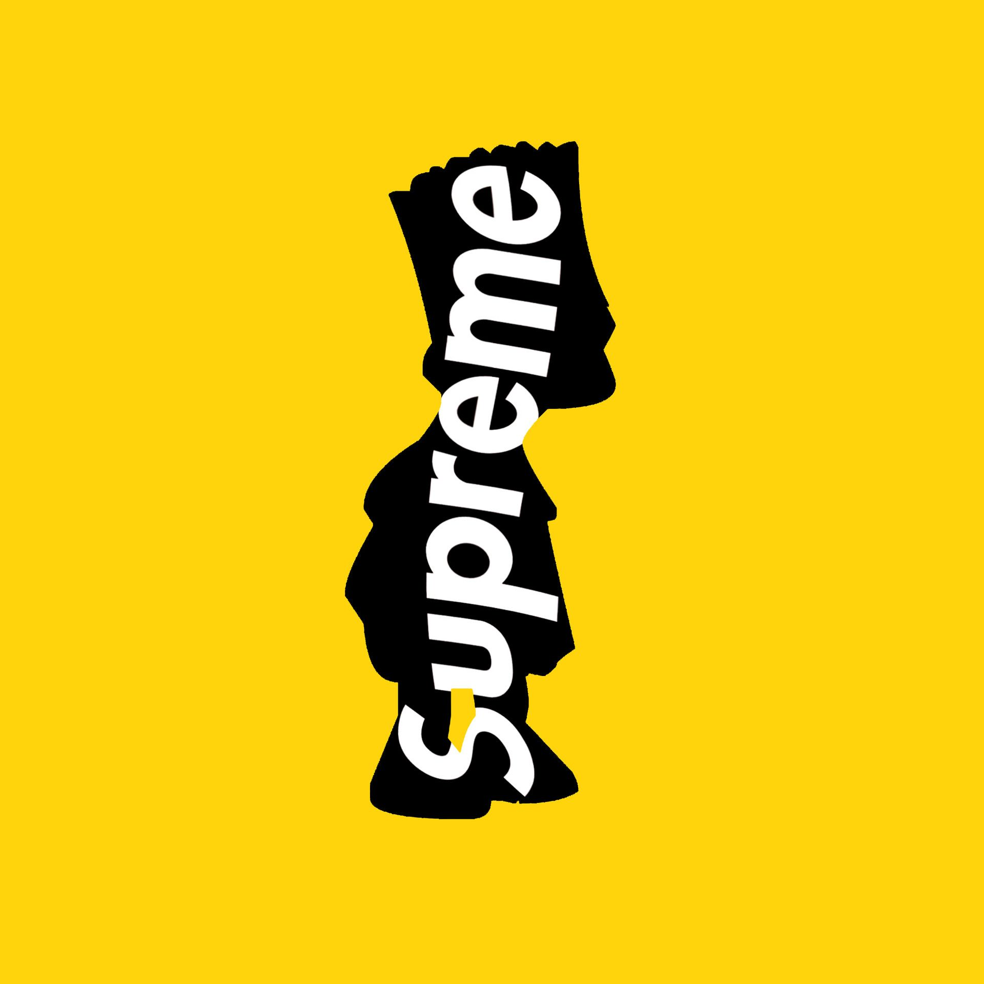 Bart Simpson X Supreme Chris Plantinga Bart Simpson Supreme Wallpaper Bart