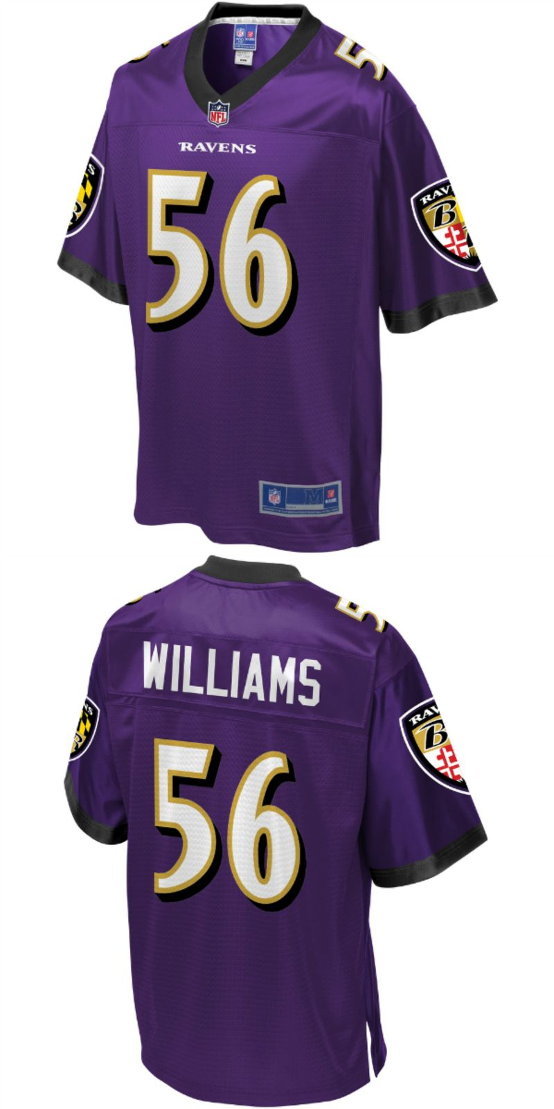 brand new bc56e fa23d UP TO 70% OFF. Tim Williams Baltimore Ravens NFL Pro Line ...