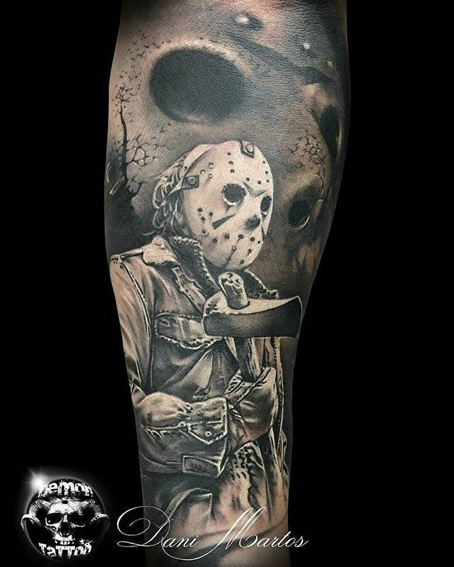 Jason Piece By Artist Demontattoo Inksav Theinkedlife
