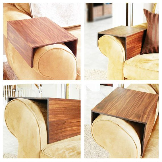 Roll Arm Couch Wrap Solid Wood Custom Arm Drink Rest