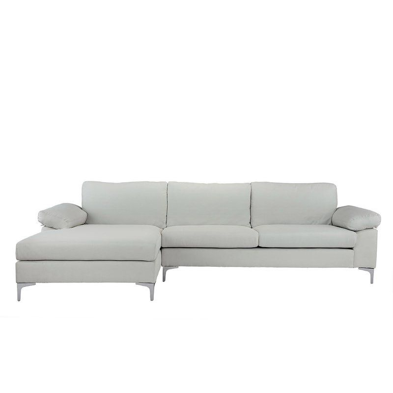 Manhasset Modern Large Sectional Reviews Allmodern Sectional Sofa With Chaise L Shaped Couch Fabric Sectional Sofas