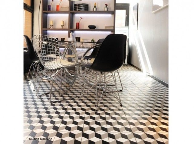 carreaux de ciment 3d floors tiles pinterest carrelage de ciment ciment et 3d. Black Bedroom Furniture Sets. Home Design Ideas