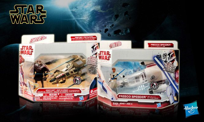"""Star Wars The Clone Wars """"Con Vehículo"""" con envío.  http://www.cuponidad.com/default.aspx?offerid=4220"""