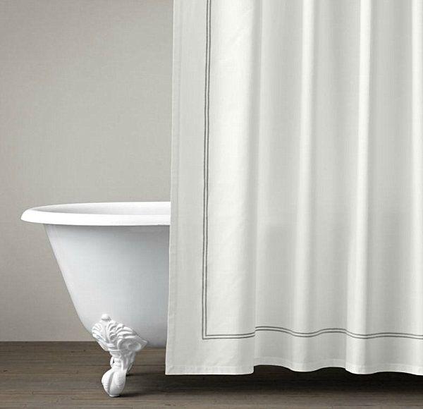 hotel style shower curtain designer