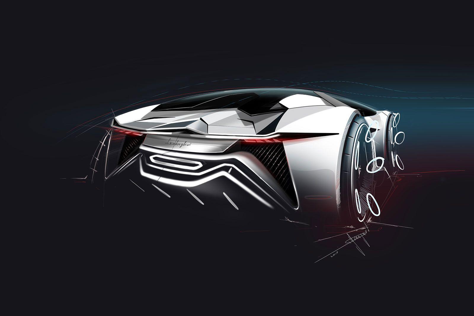 Lamborghini Diamante Concept   Design Sketch   Car Body Design. See A Lot  More Here