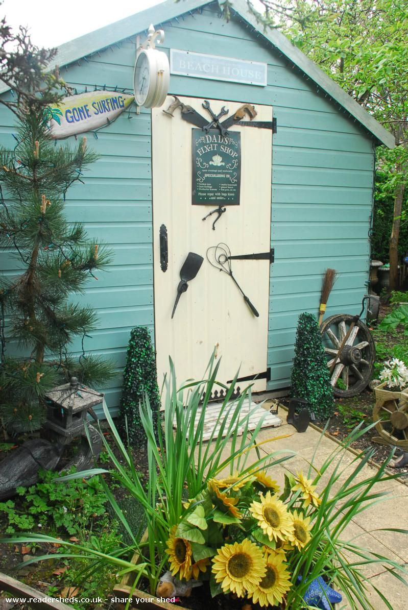 Unexpected from bottom of garden | #shedoftheyear @paul ruddiforth ...