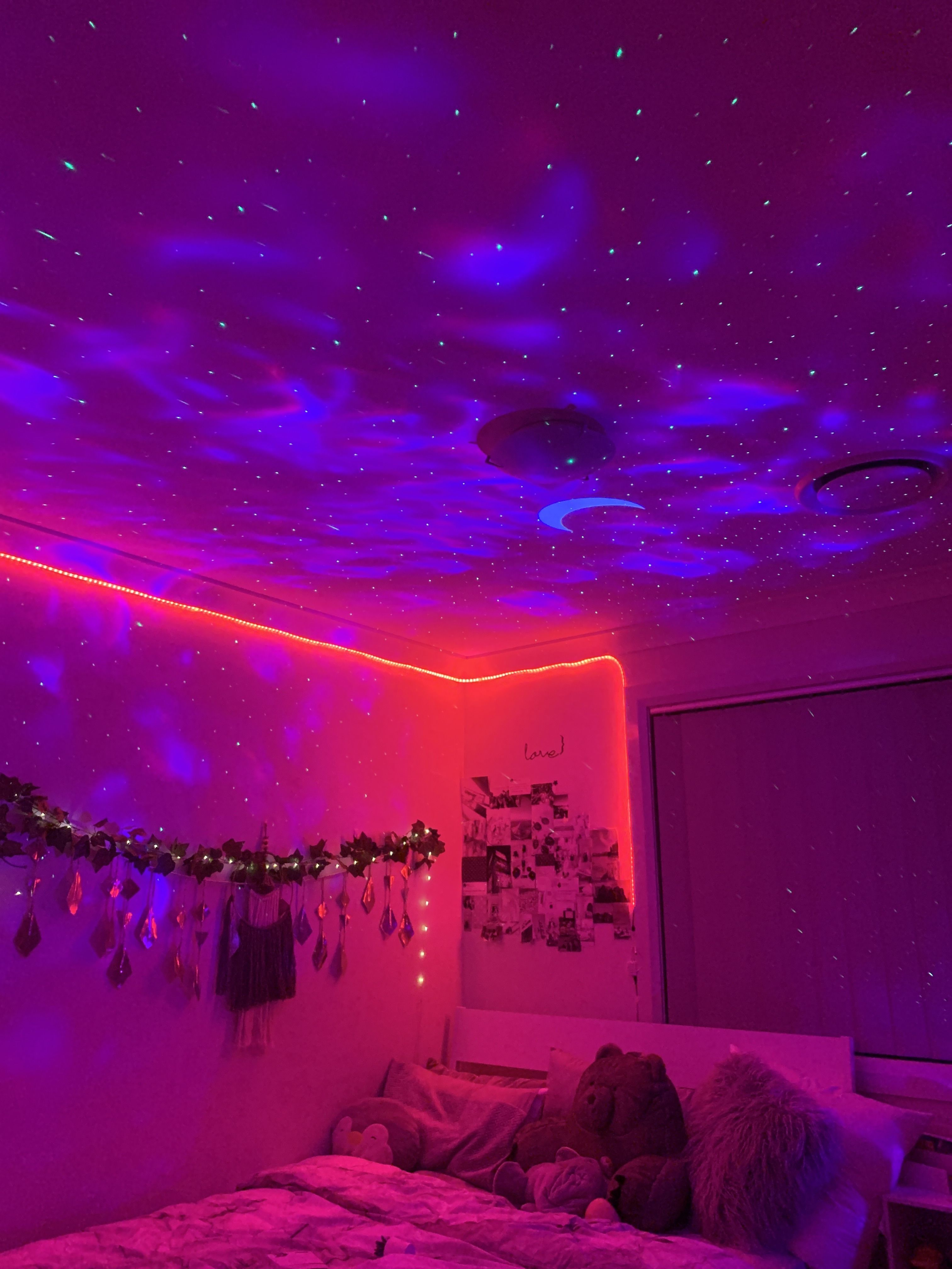 Transform your bedroom into a galactic oasis