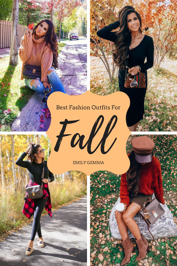 431588f66631 Choose your favorite outfit for fall season. You can easily re-create them.
