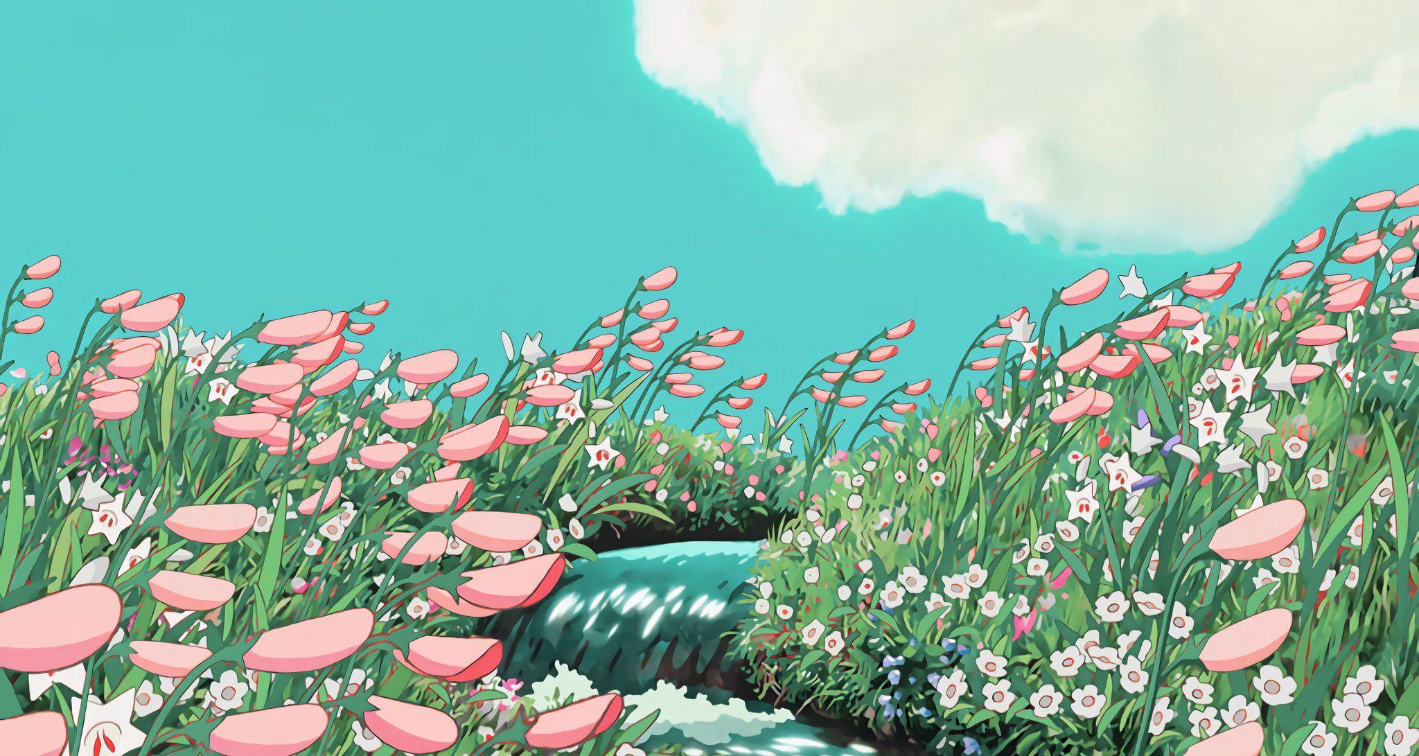 Pin By Ren On Anime Serotonin In 2020 Ghibli Artwork Anime Scenery Wallpaper Anime Scenery