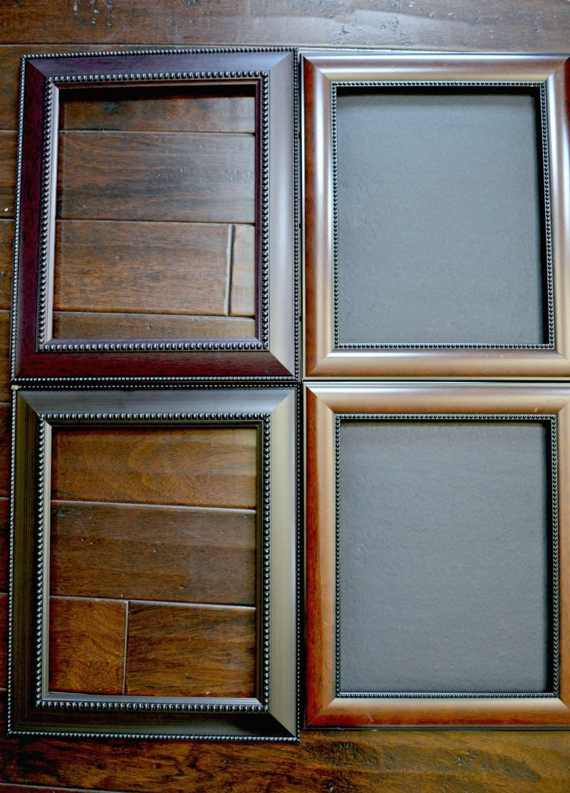 Picture Frames Transformed With Chalk Paint Painted Picture