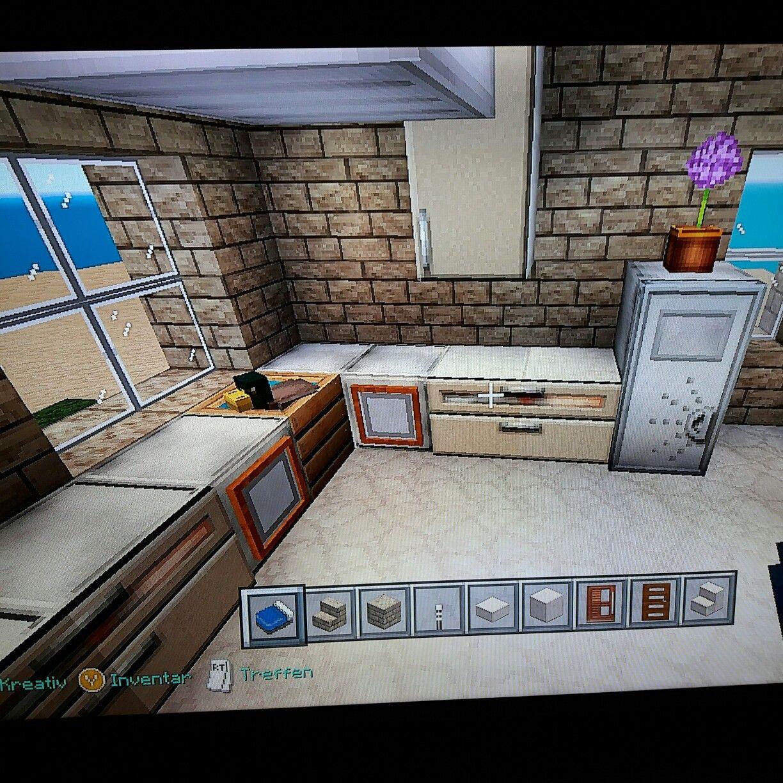 Minecraft Kitchen Design | Minecraft | Pinterest | Kitchen designs ...