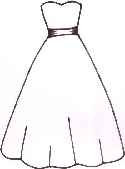 bridesmaid dress silhouetteclipart craft ideas
