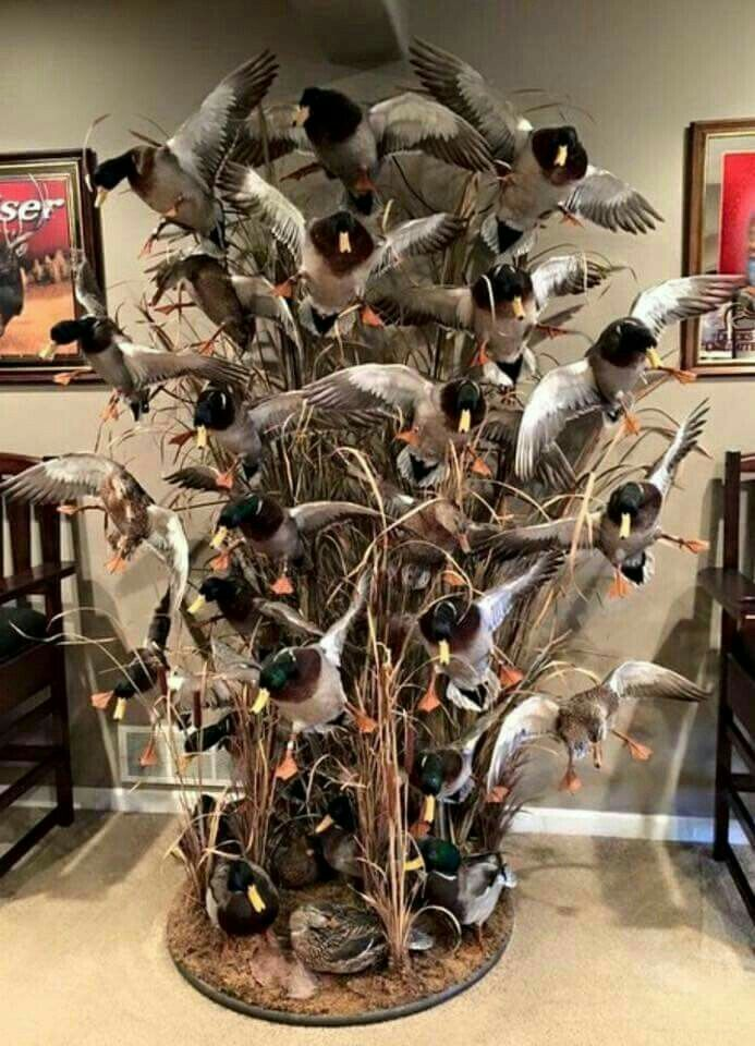 goose hunting christmas ornaments