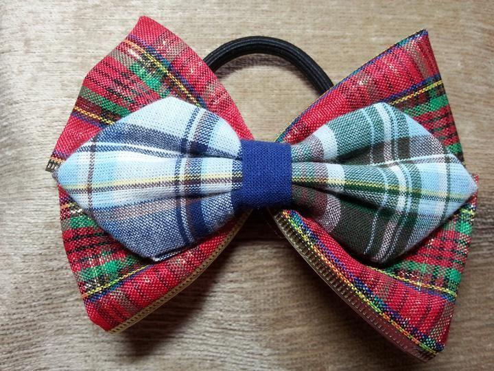 ribbon bow ponytail holder 105L
