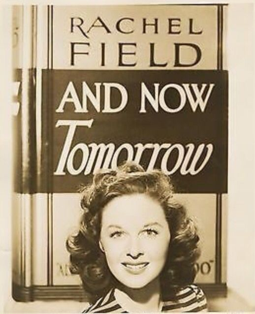 """Susan Hayward publicity still for """"And Now Tomorrow"""""""