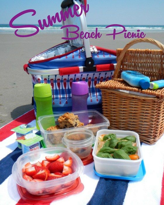 Three Summer Menus For Every Occasion. Beach Picnic, Lunch