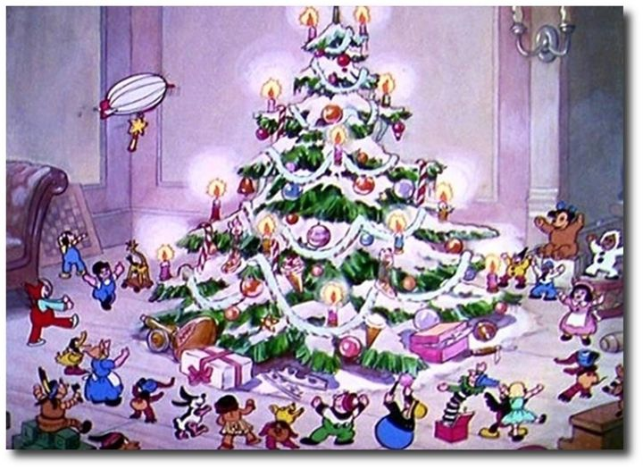 The Night Before Christmas Silly Symphony 1933 Following The Previous Year S Santa S Workshop The Night Before Christmas Christmas Cartoons Christmas Fun