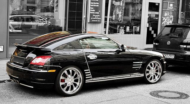Chrysler Sports Car Crossfire Fancy Cars Cool Usa