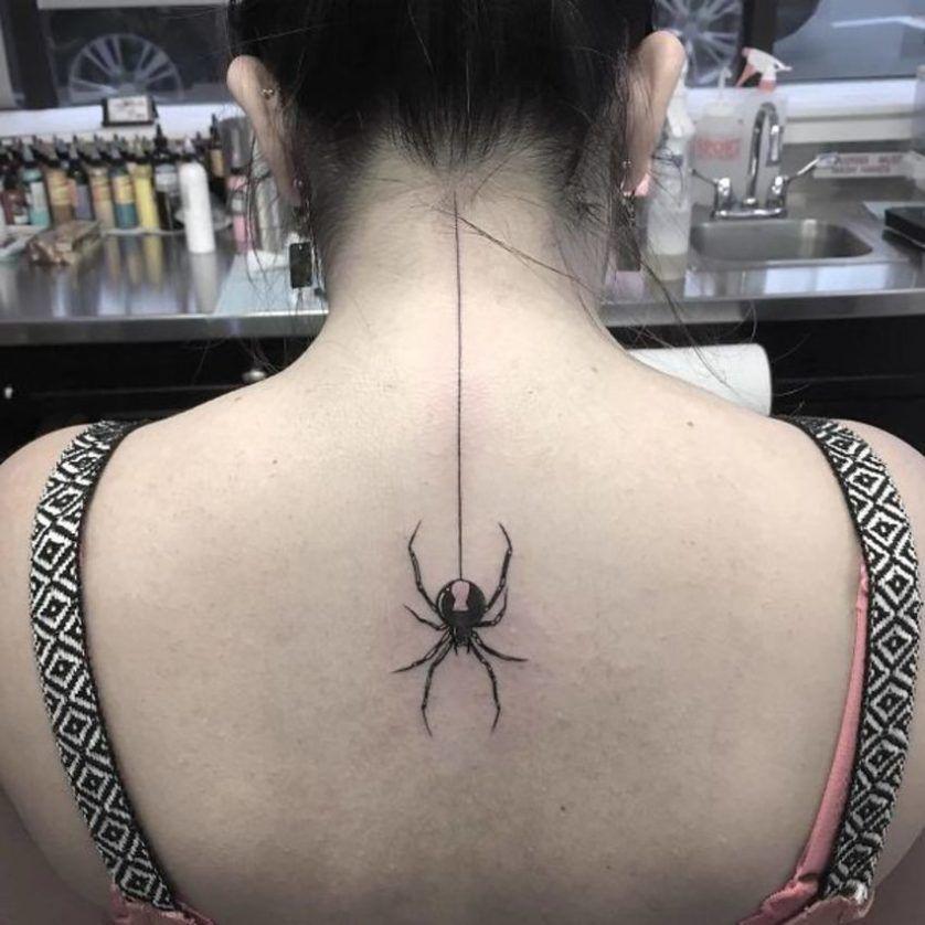 30 Melhores Tatuagens Na Espinha Dorsal Tattoos Na Coluna