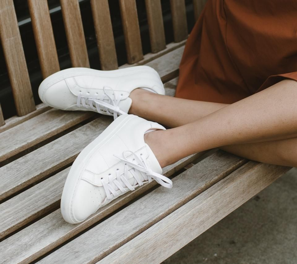 best womens leather sneakers