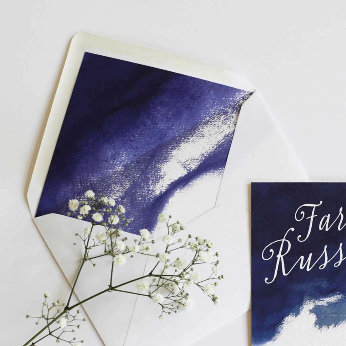 cursive fonts for wedding cards%0A A bold and modern collection featuring handpainted watercolour backgrounds  and a pretty script font  Handmade InvitationsBlue Wedding