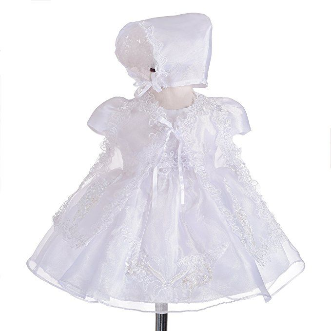 64a1d694c18c Dressy Daisy Baby Girls  3 pcs Lace Baptism Christening Dresses With ...