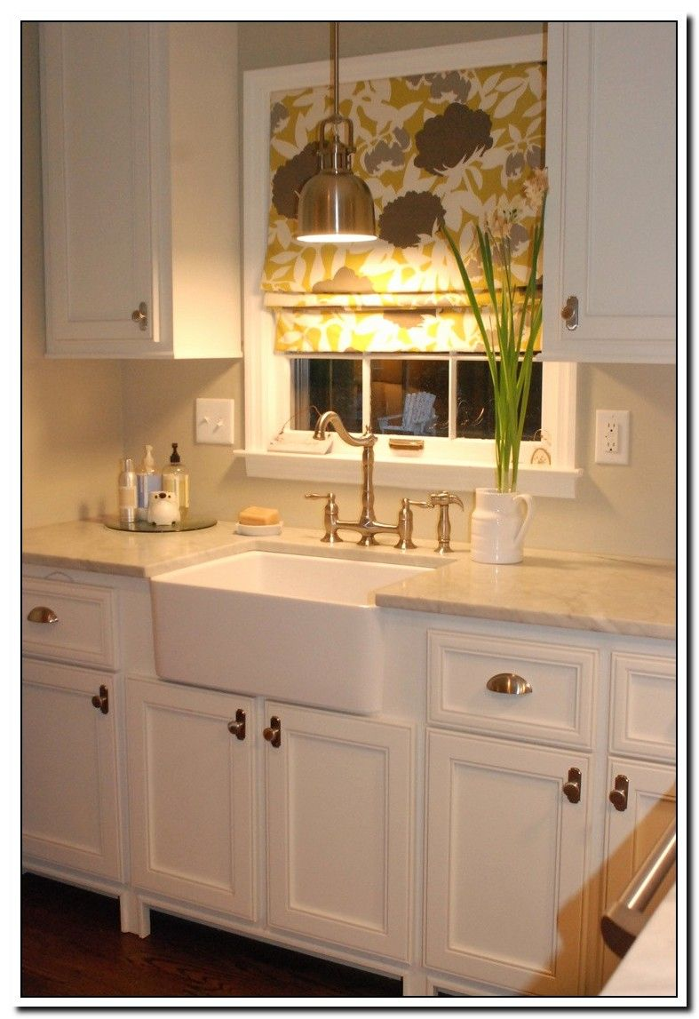 Wall Of Windows Above Kitchen Sink White Kitchen Interior White Kitchen Decor Modern Farmhouse Kitchens