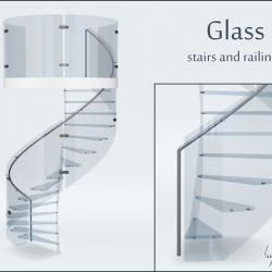 Glass Spiral Staircase By Gosik Platinumsimmers Link Says That