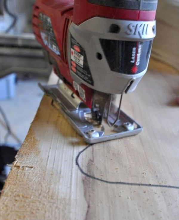Küche gestalten \u2013 Idee für Holz Schneidebrett zum selber Machen