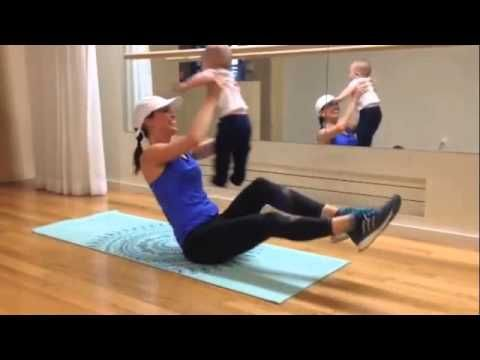 Workout with Baby: Butt, Abs, Arms & Giggles!