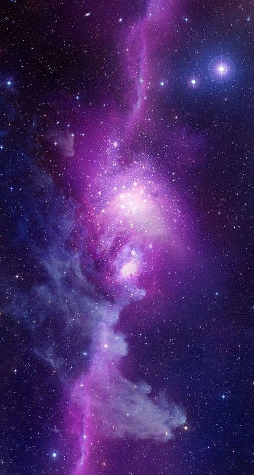 Wallpaper Galaxy Purple