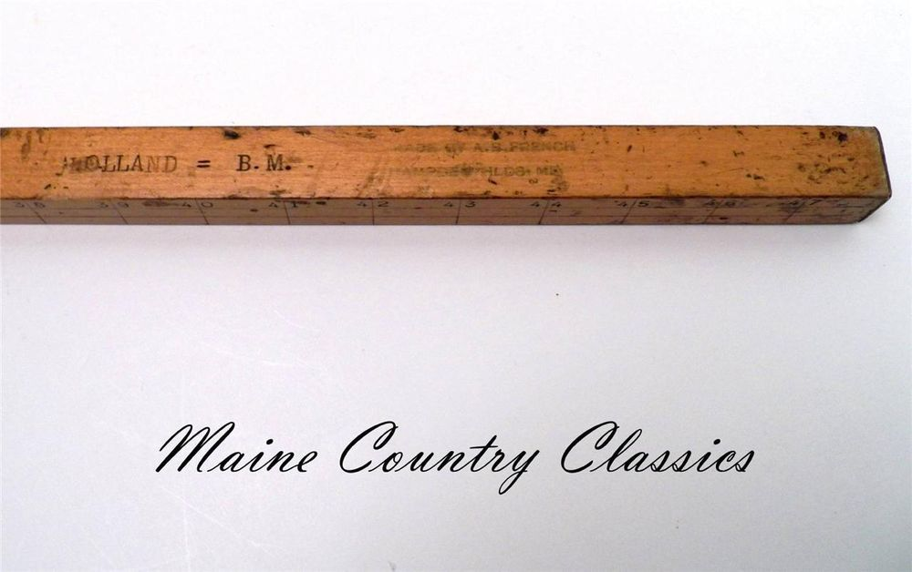 country star wall decor ebay.htm old vintage ca 1930 s log scale a b french hampden maine timber  old vintage ca 1930 s log scale a b
