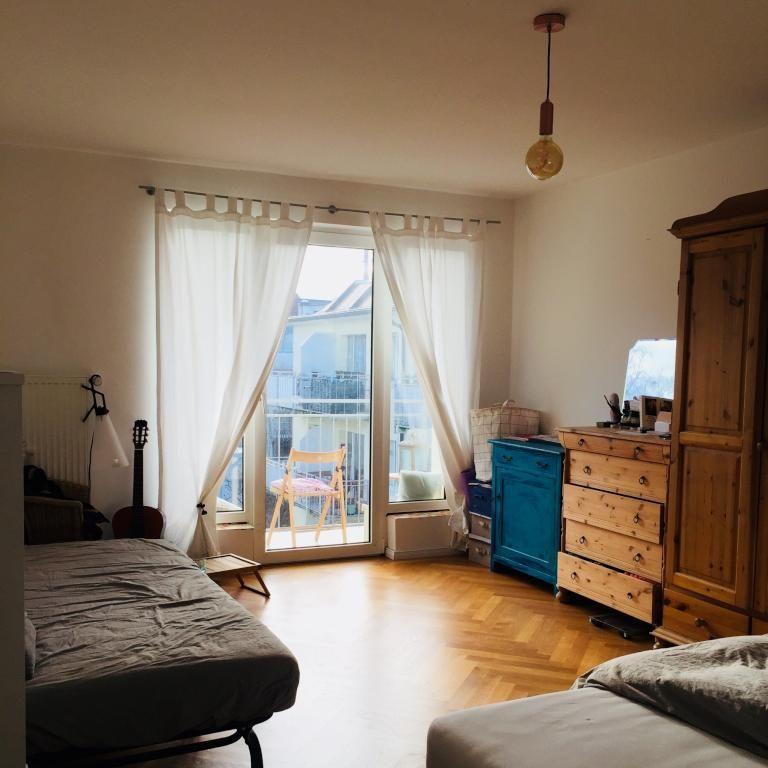 WG-Zimmer mit Balkon #WGZimmer #Schlafzimmer #Einrichtung