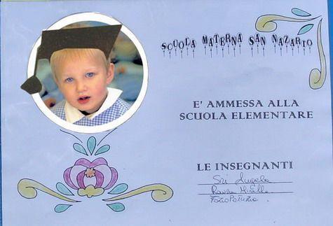 Attestato Bambini ~ Diplomi scuola infanzia da stampare cerca con google diplomi