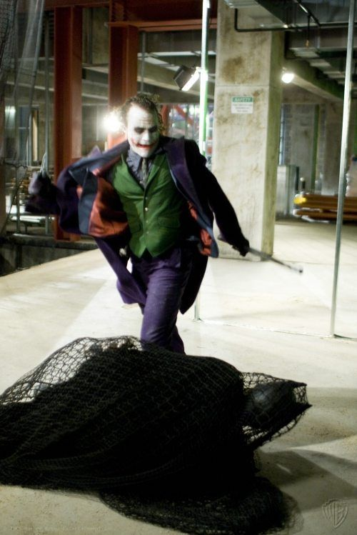The Heath Ledger Behind The Scenes Edition Of The Dark