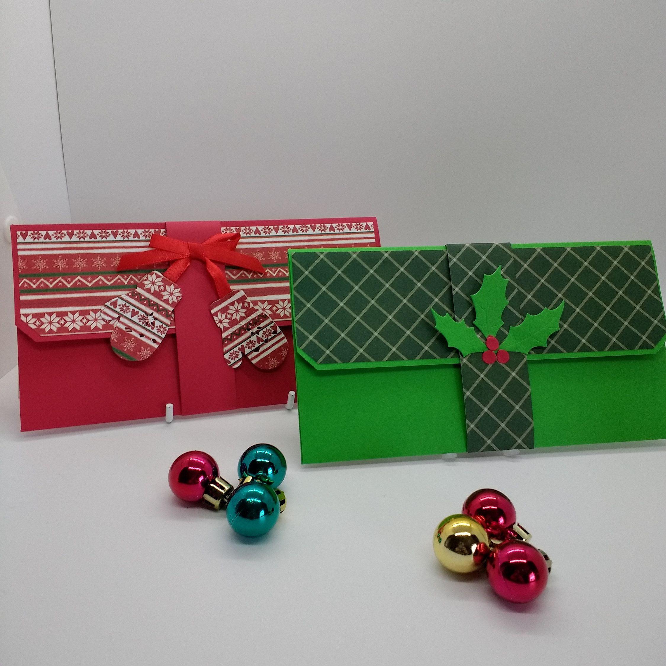 christmas money envelope gift card envelope cheque