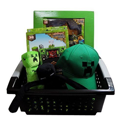 Ultimate minecraft gift basket perfect for christmas get well ultimate minecraft gift basket perfect for christmas get well birthday easter or other occasio negle Images