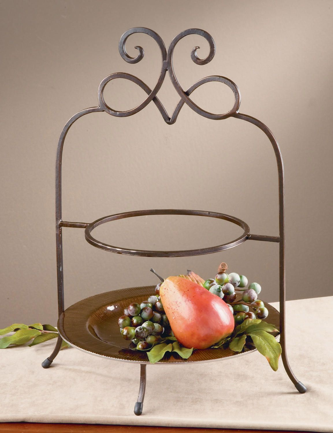 York 2 Tier Plate Stand (Buffet & Serving) | $27 | Home Decor ...