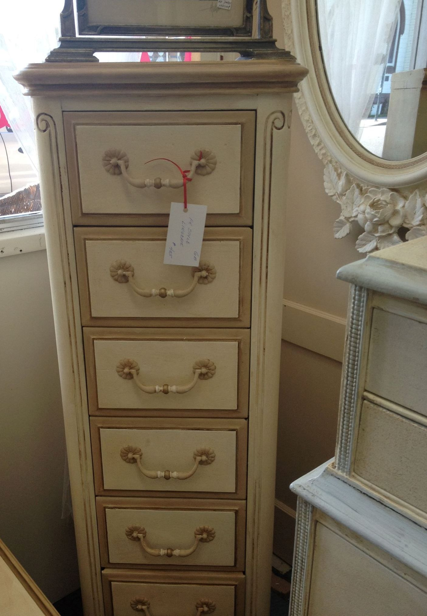 From Reclaimed Decor in Napa, CA a beautiful painted dresser using Paint Couture!(TM)